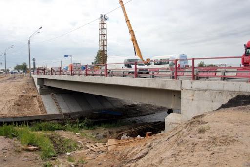 Строительство пешеходного моста на станции Славянка Октябрьской железной дороги; ИЭИ, ООС, ИТМ ГО ЧС, МОПБ